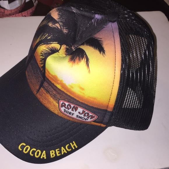 6505429014f Vtg Ron Jon surf Shop SnapBack Netted Cap Hat. M 5a77403d2c705dfb0b608938